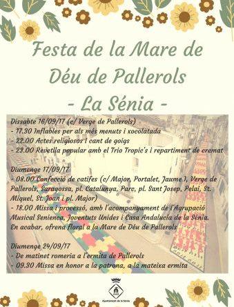 Festa de la Mare de Déu de Pallerols 2017